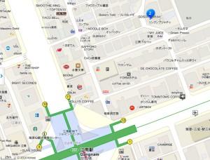 カンナム_ゴスタッカルビ_地図