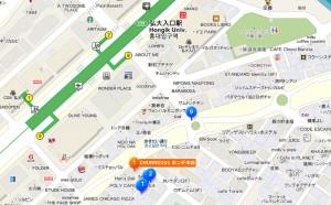 churro101_hongdae_map
