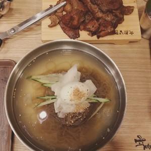 yukssam_naengmyeon